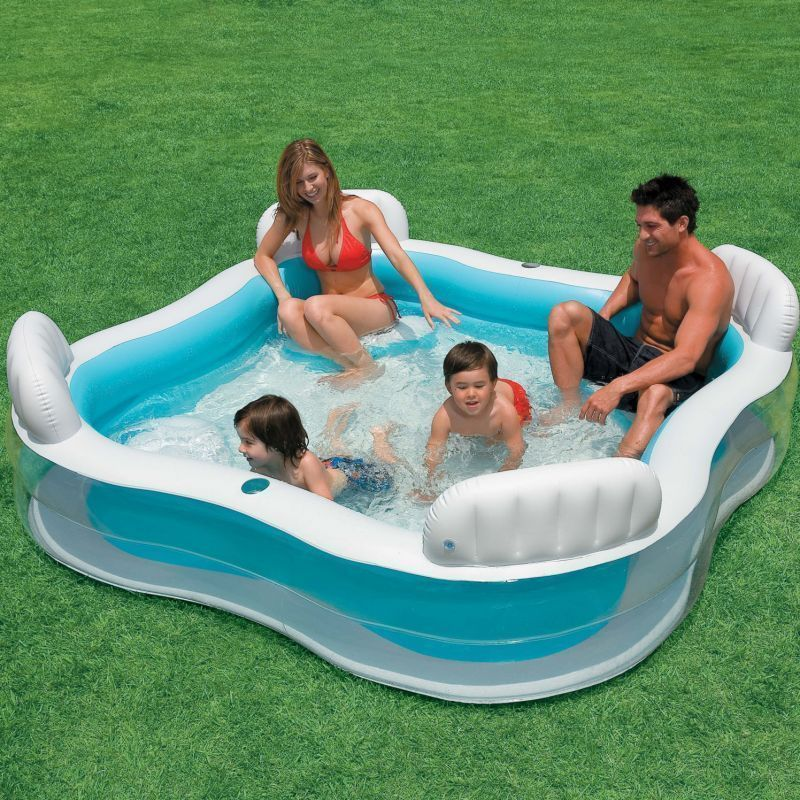 Buy Ntex Inflatable Swimming Pool With Seats online