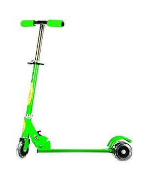 Buy Eci - Green Scooter For Kids, Foot Brake, Children Kick Push Roller Board online