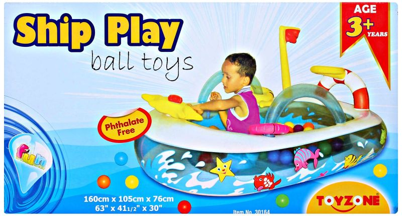 Buy Toyzone - Ship Play Ball Toys online