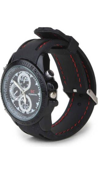 Buy 4GB Sports Wrist Watch Spy Hidden Camera Rubberised online