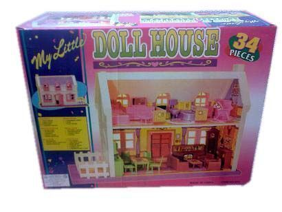 Buy Educational Toy 34 PCs Doll House online