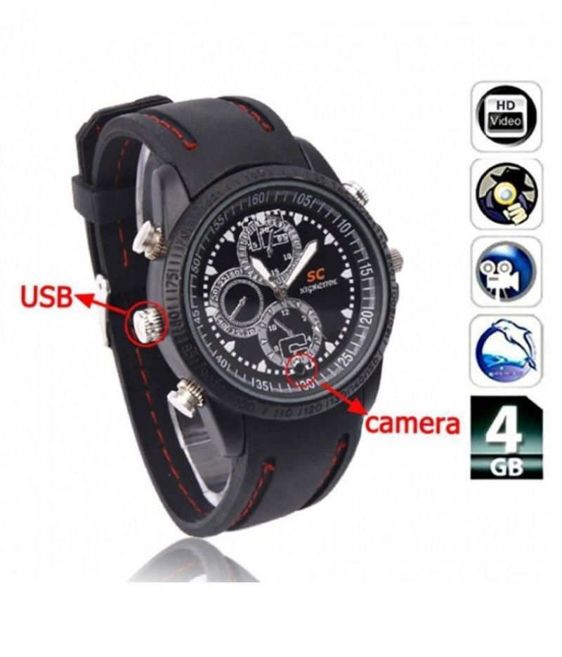 Buy 4GB HD Sports Looks Wrist Watch Spy Hidden Camera online