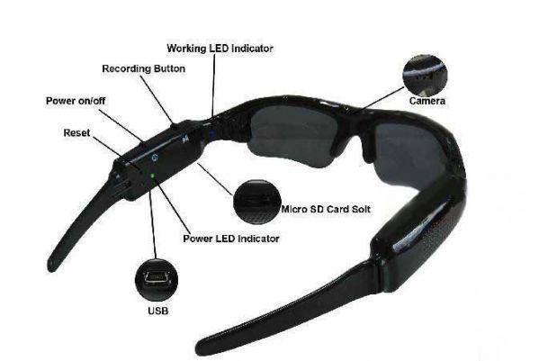 Buy Spy Camera Sunglasses online