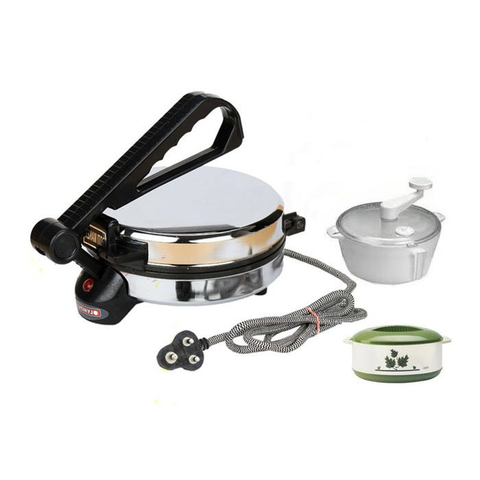 Buy Czar New Roti Maker With Dough & Casarole Combo Pack online