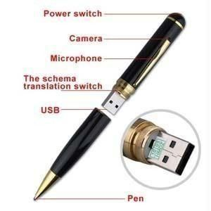 Buy High Quality HD Hidden Spy Pen Camera With 32 GB SD Memory Card online