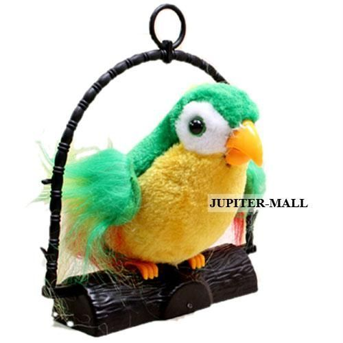 Buy 7inch Talk Talking Back Parrot Bird Kids Toy 80 online