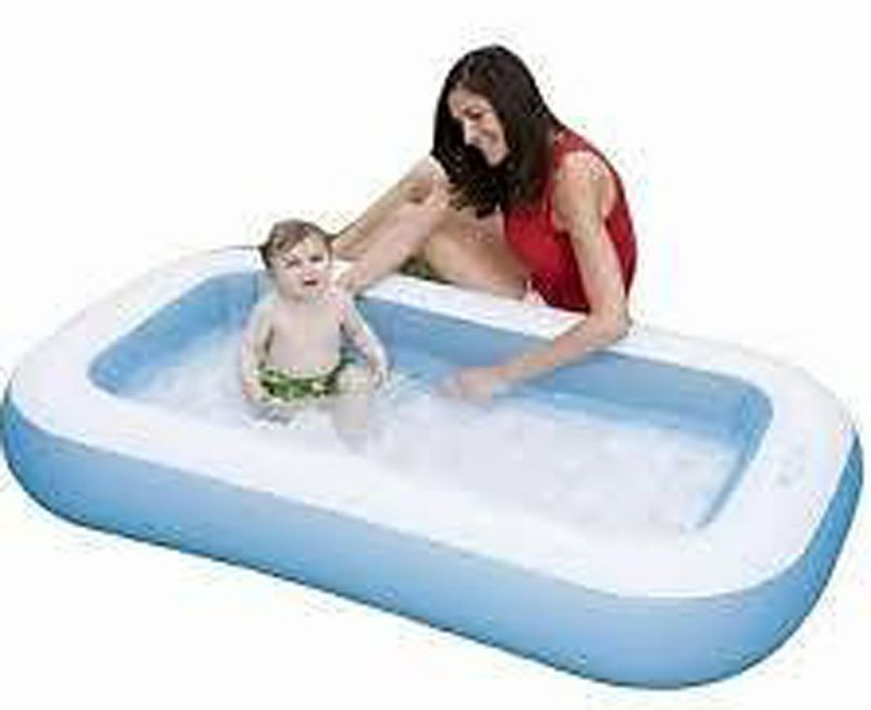 Buy Kids Rectangular Swimming Pool For Kids For Home Garden Farmhouse online