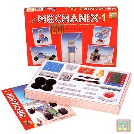Buy 128pcs Metal Mechanix 1 Engineering Toy Set Age7 online