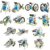 Buy 14 In 1 Solar Toy Educational Robot Game online