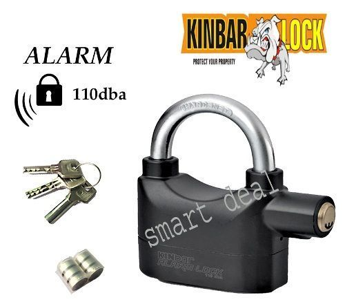 Buy Sell Kinbar Siren Alarm Lock For Home/office/bikes Security Etc online