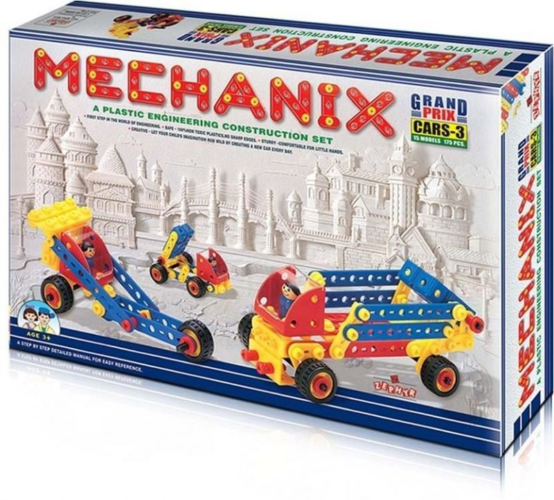 Buy Zephyr Plastic Mechanix-cars-3 online