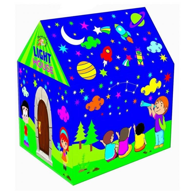 Buy Big Huge Cottage Tent Style House For Children With LED Light online