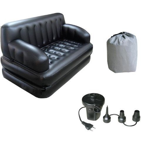 Buy Bestway Large Inflatable Sofa Cum Bed - 5 In 1 (free Pump )(limited Offer ) online