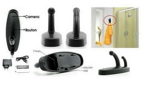 Buy Clothes Hook Dvr Video Camera Recorder Spy Cam online