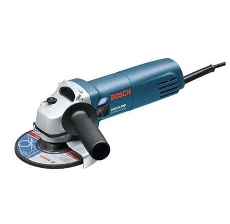 Buy Bosch Angle Grinder (mini) Gws 6-100 Professional 670 Watts With Flat Gear online