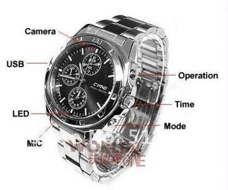 Buy 4GB Super Spy HD Crono Watch online