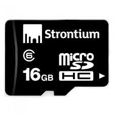 Buy Strontium 16 GB Micro SD Memory Card Class 6 online