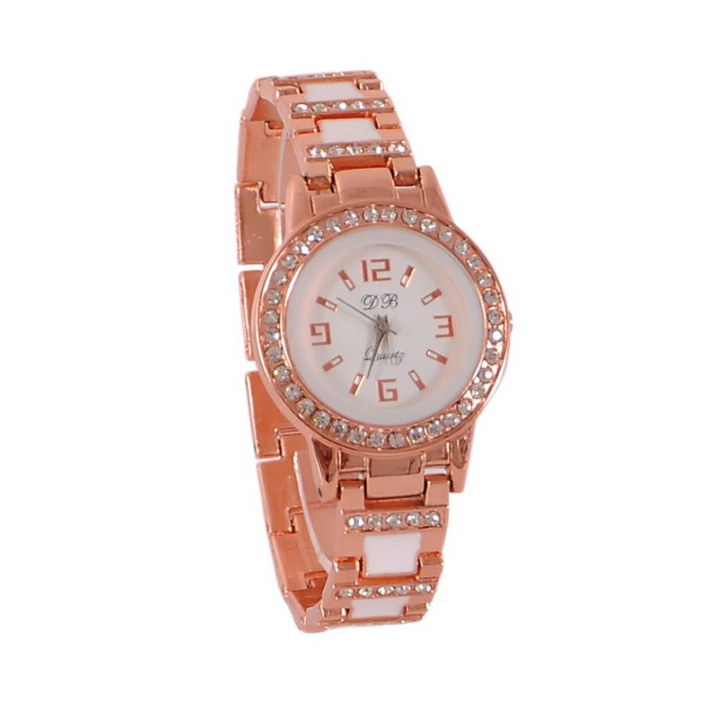 Buy Rose Gold Fancy Ladies Watch- Db Rose Gold online