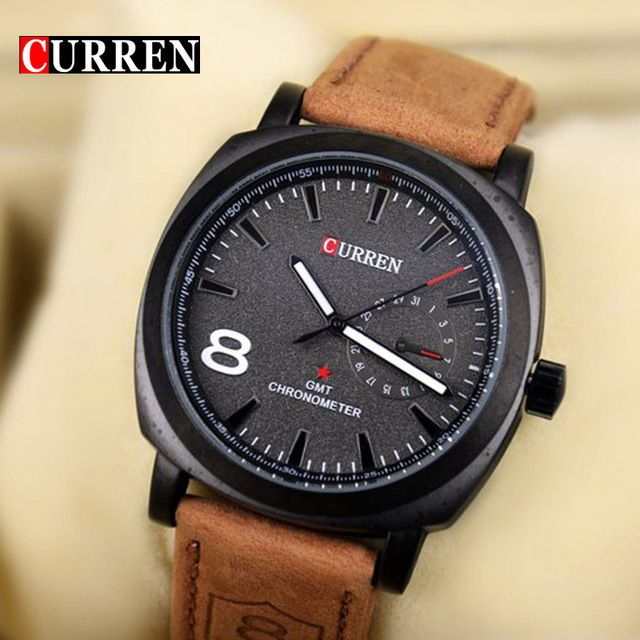 exclusive dave leather s quartz watch fashion custom casual shshd google watches men hollow weng
