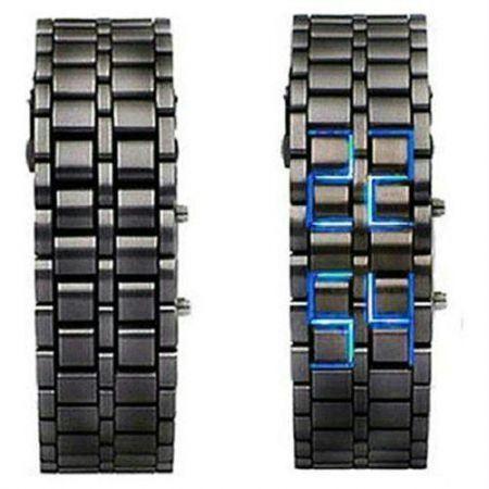 Buy New 2013 Blue LED Display Cum Bracelet Watch online