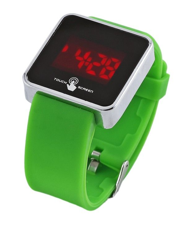 Buy Stylish & Sober Touch Srceen Wrist Watch -mflgreentouch online
