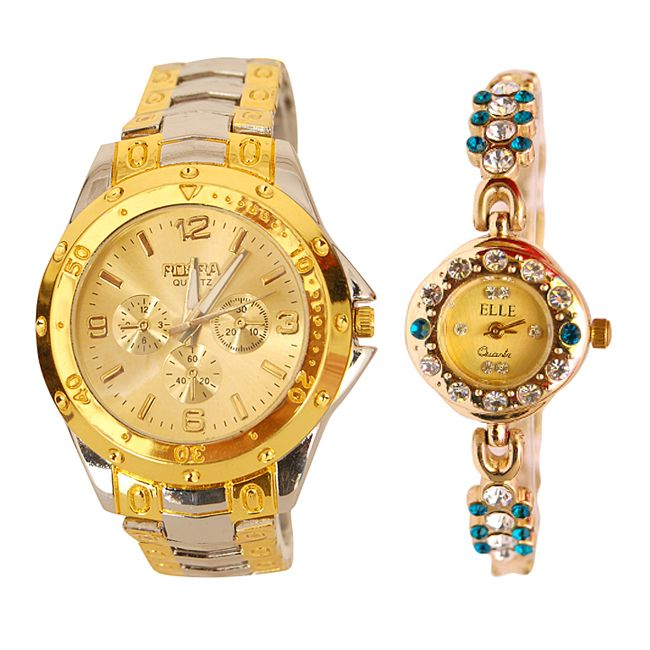 Buy Buy 1 Get 1 Free Stylish Wrist Watch online