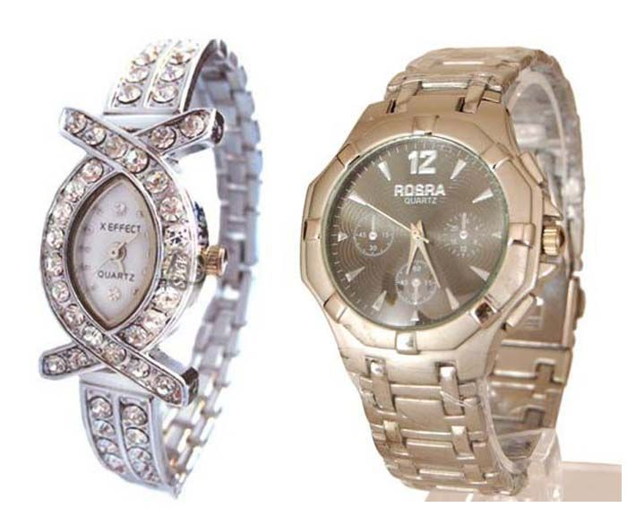 Buy Buy 1 Get 1 Free- Stylish Wrist Watches 35 online