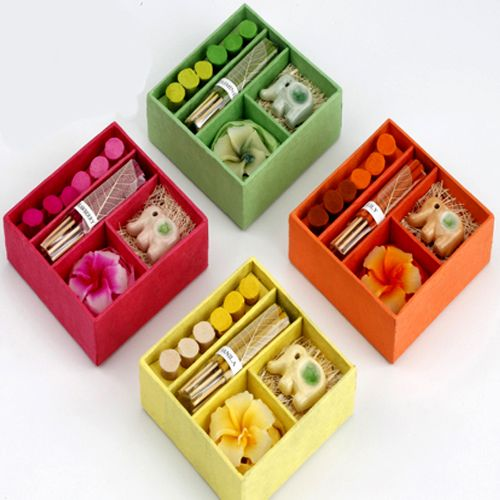 Buy Candles-set Of 4 Incense Sets online