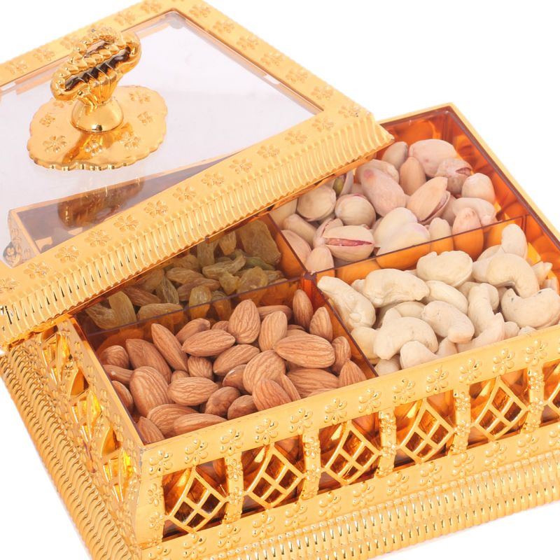 Buy Golden Window Multipurpose Dryfruit Box online