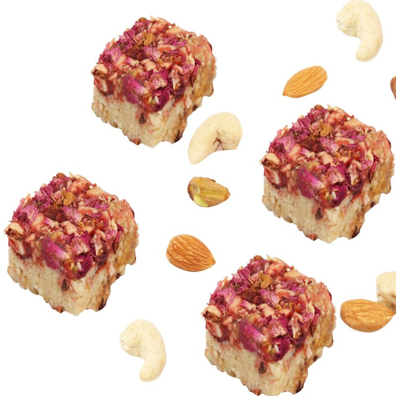 Buy Sweets - Kaju Rose Delight online