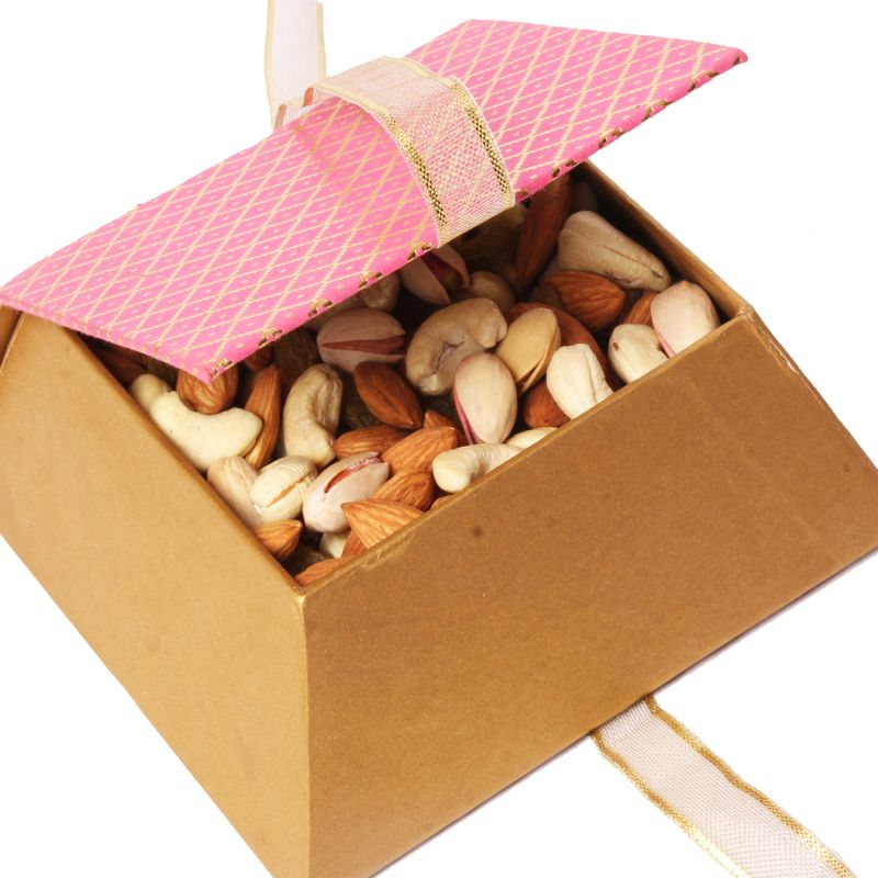 Buy Dryfruit - Pink Mixed Dryfruit Box online