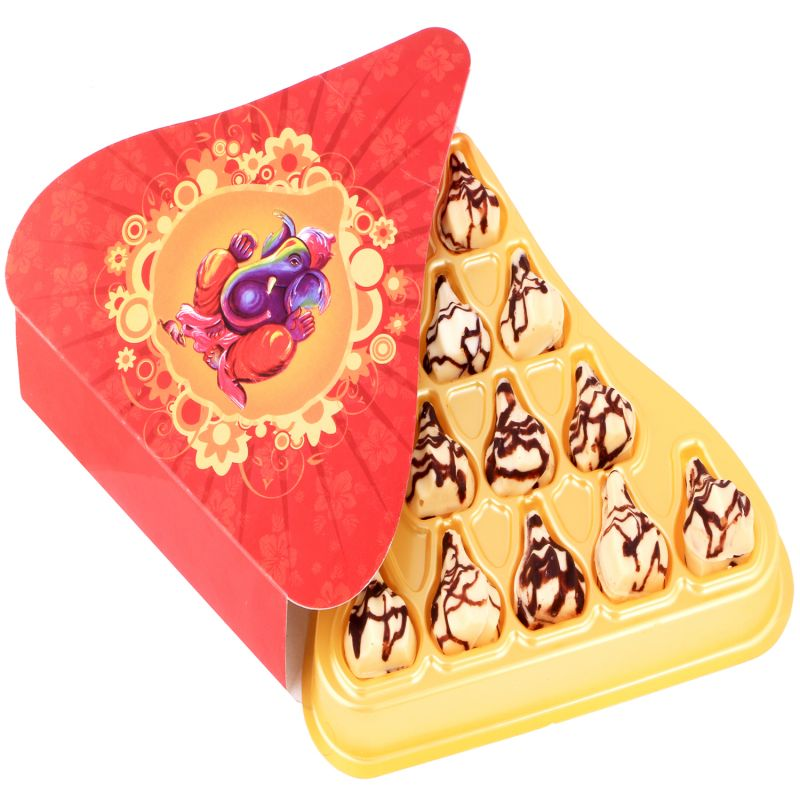Buy Box Of 11 Marble Chocolate Modaks online