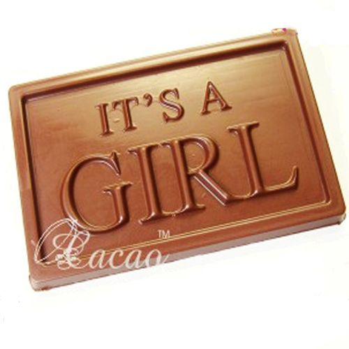 Buy Chocolates - Its A Girl Sugarfree Chocolate Bar online