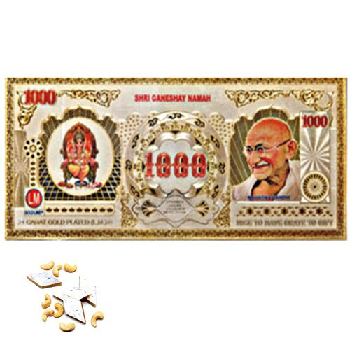 Buy Gifts Hamper-gold Currency Note online