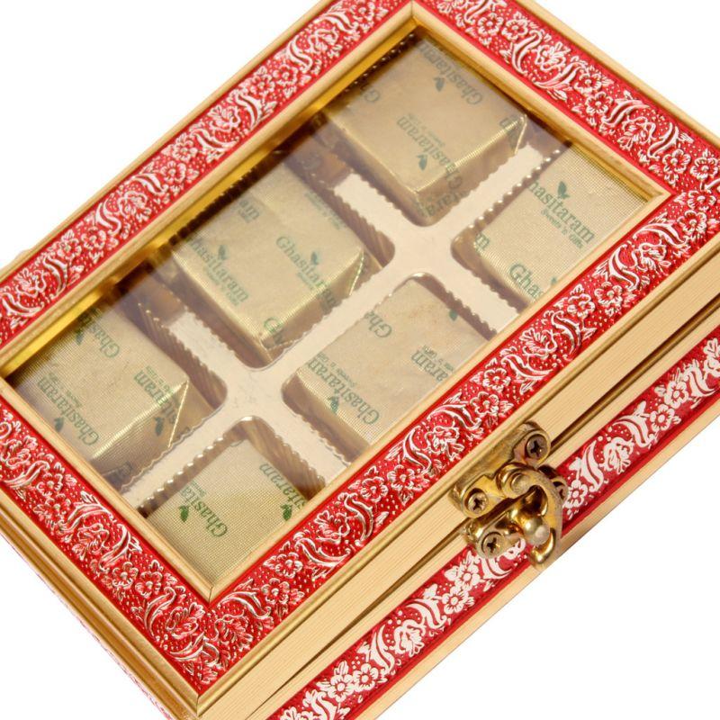 Buy Sweets-red 6 PCs Mewa Bites Box online