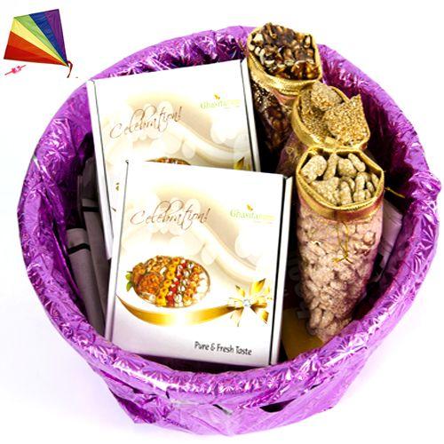 Buy Lohri Gifts - Lohri Special Basket Hamper online