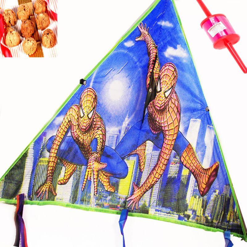 Buy Lohri Gifts - Spiderman Foldable Kite online