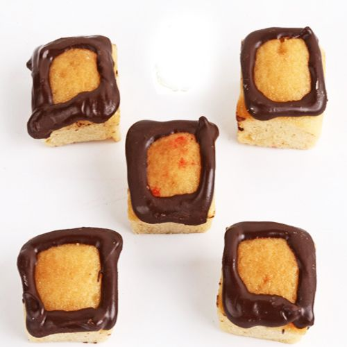Buy Gifts-mawa Chocolate Square Cake Bites online