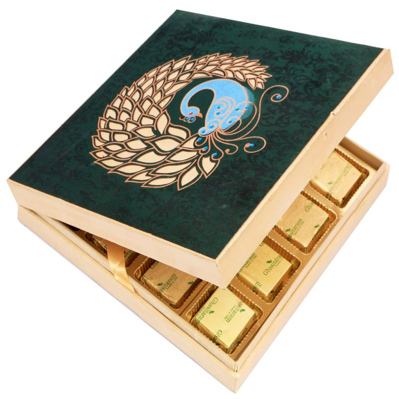 Buy Mothers Day Gifts- Peacock Chocolate Box online