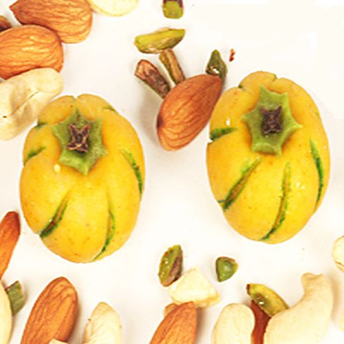 Buy Sweets-ghasitaram Gifts Yellow Melons online