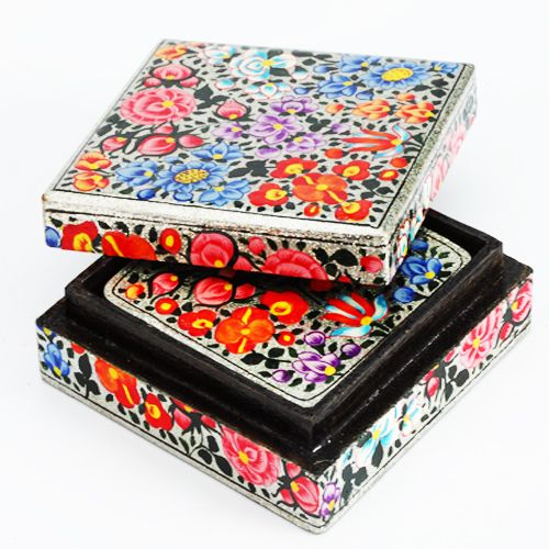 Buy Gifts Hamper-kashmiri Table Coasters online