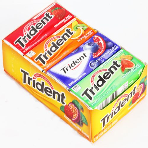 Buy Chocolate-sugarfree Trident Fruit Gums online