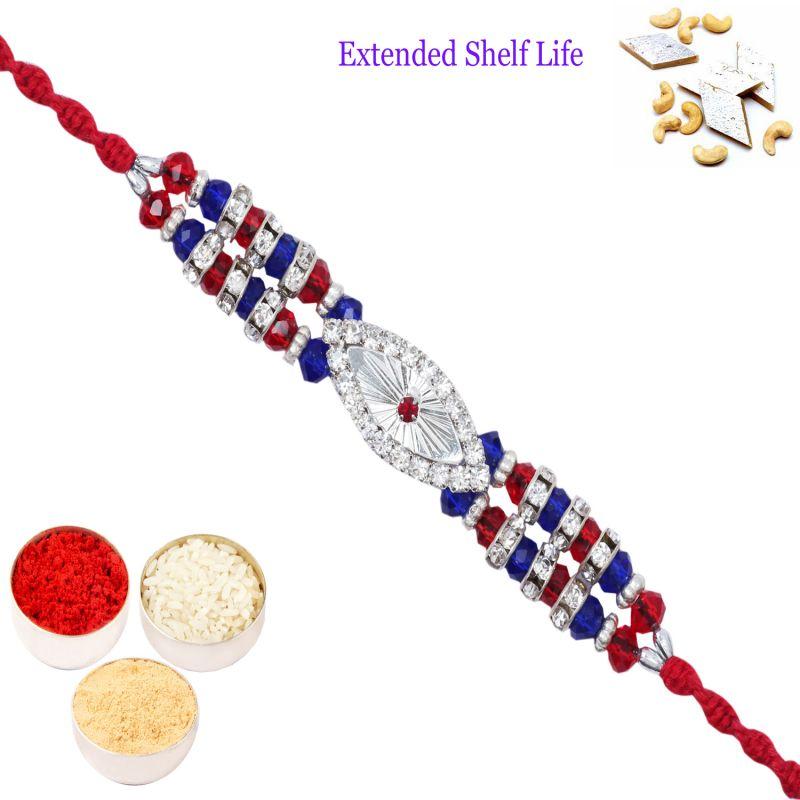 Buy Rakhi For Brother Rakhis Online - D-9900a Diamond Rakhi online