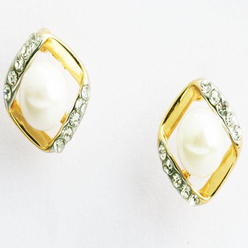 Buy Square Pearl Earings- online