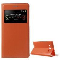 Buy Leather Battery Housing For Samsung Galaxy Grand 2 Duos G7102 S View Smart- online