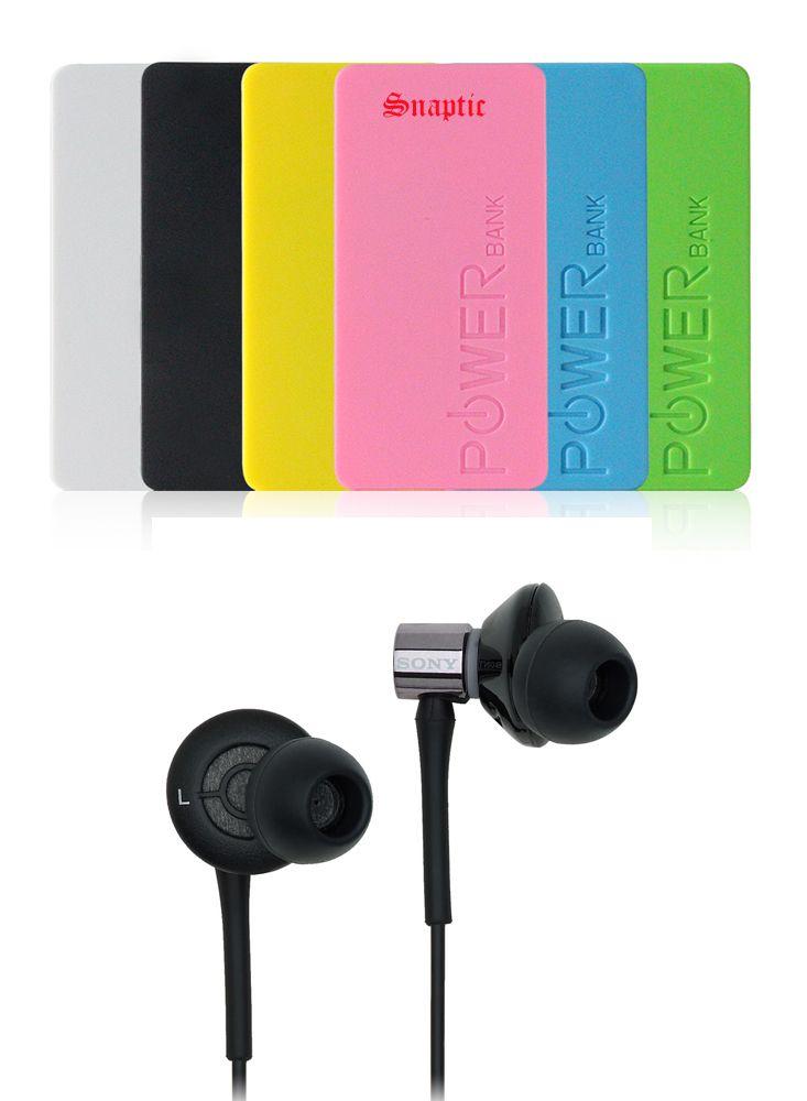 Buy 5600mah Universal Powerbank & OEM Sony Ex-85sl Headset With Mic online