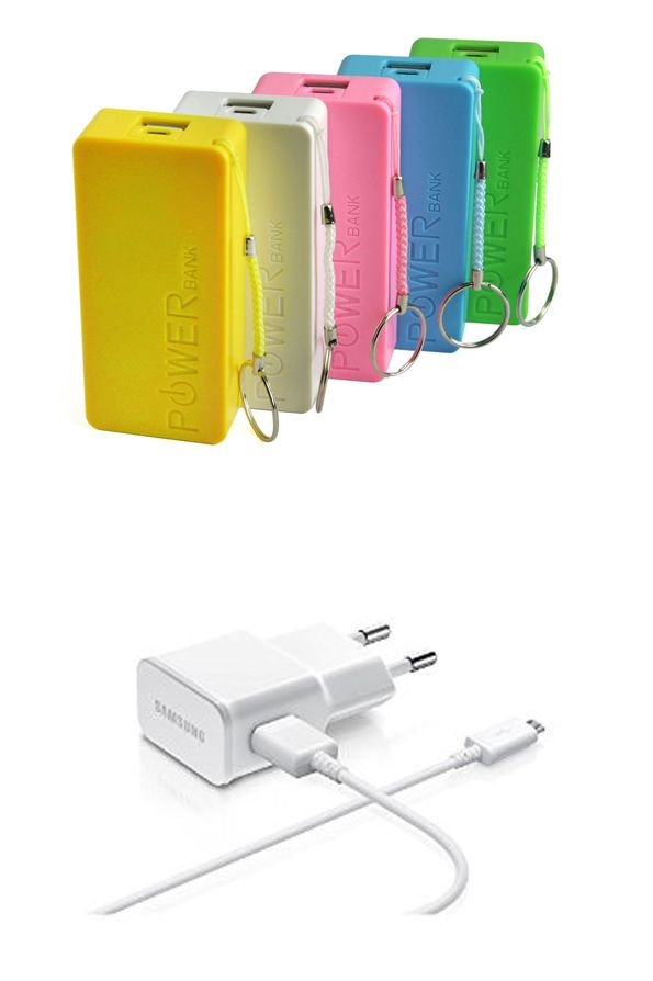Buy Buy 1 Get 1 Free 5600mah Powerbank & Micro USB White Charger online