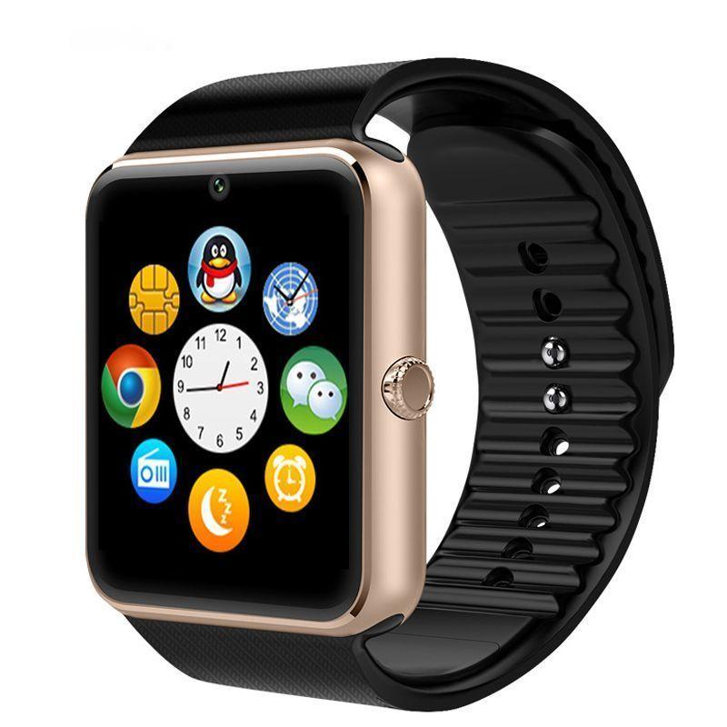 Buy Crocon Nfc Bluetooth Smart Watch Gt08 For Android, Ios, & Smart Phones Metal online