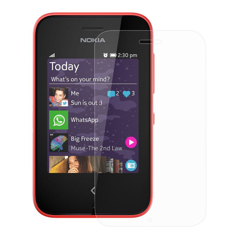 Buy Nokia Asha 230 Ultra Clear HD Screen Protector Scratch Guard ...