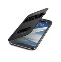 Buy Flip Case Black For Samsung Galaxy Note 2 N7100 online